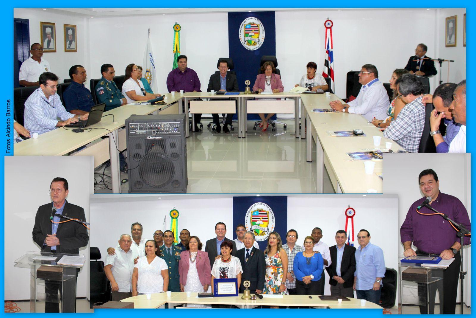 UEMA promove reunião do Rotary no campus Paulo VI