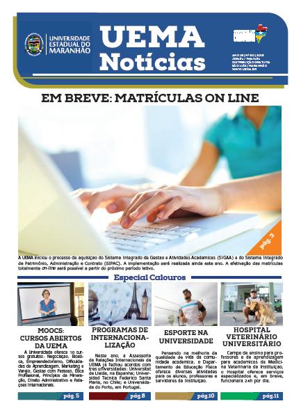 UEMA NOTÍCIAS – 1ª Ed. 2016