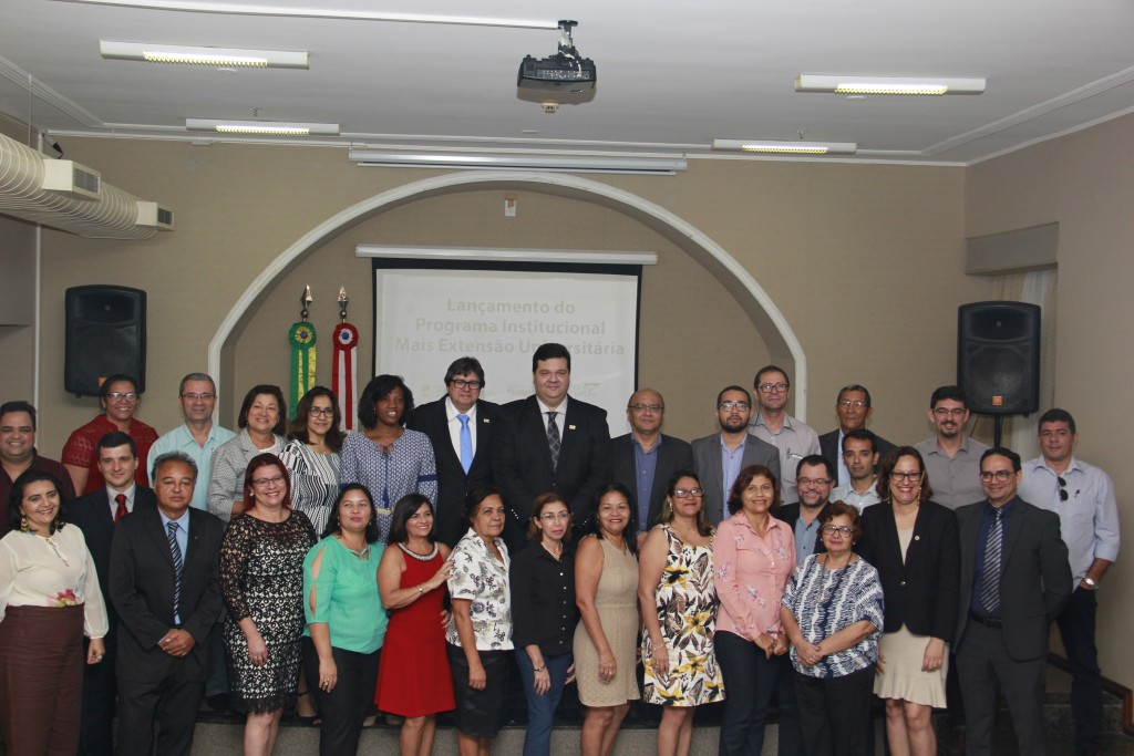 """Professores da UEMA que coordenarão os projetos do """"Mais Extensão"""""""