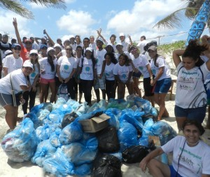 Clean Up-lixo coletado