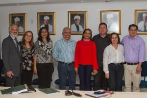 Vice-Reitor e Membros da Comissão do PAES 2017