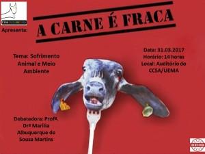 Foto do Cartaz Cine Boboromina A Carne é Fraca