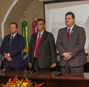 Governador, Vice-Governador e Reitor da UEMA