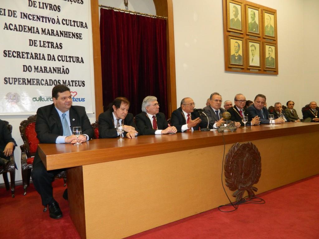 Posse do professor Manoel Aureliano, do CCSA, na AML (32)