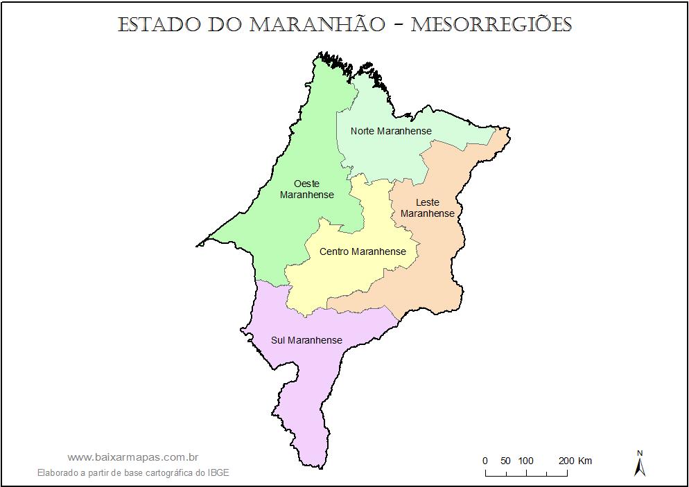 mapa-estado-maranhao-mesorregioes