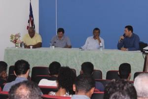 Primeira edição do Simpósio de Matemática foi realizada no auditório do CECEN, na Universidade Estadual do Maranhão (UEMA). Foto: