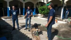 Amostra foi realizada pelos alunos do 2° período do curso de Agronomia. Foto: Divulgação.