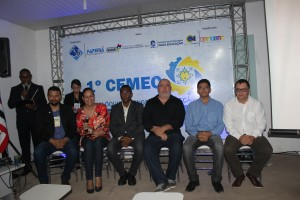Professores da UEMA e profissionais no I Colóquio de Engenharia Mecânica. Foto: Edson.