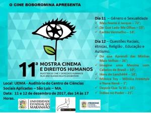 11ª Mostra Cinema e Direitos Humanos. Foto: Divulgação.