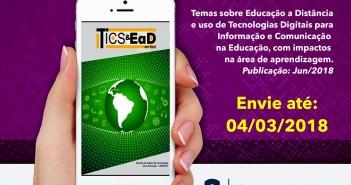 A Revista TICs & EaD em Foco. Foto: Divulgação.