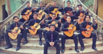 Orquestra de Violões da UEMA/EMEM. Foto: Divulgação.