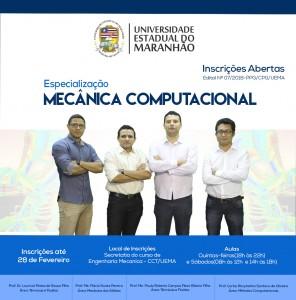 Especialização em Mecânica Computacional do Maranhão. Foto: Divulgação.