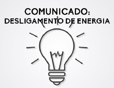 Aviso – Desligamento de energia dia 18/09