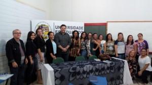 Reitor, gestores professores,alunos e servidores da UEMA de diversos Campi