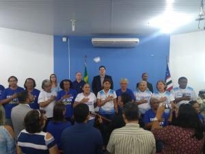 Apresentação do coral na abertura do III Encontro de Coordenadores da UNABI. Foto: Gustavo Sampaio.