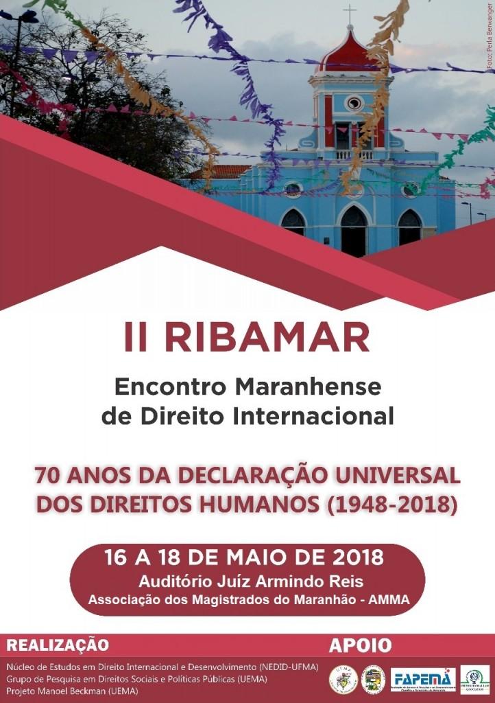 RIBAMAR 2 Encontro Maranhense de Direito Internacional