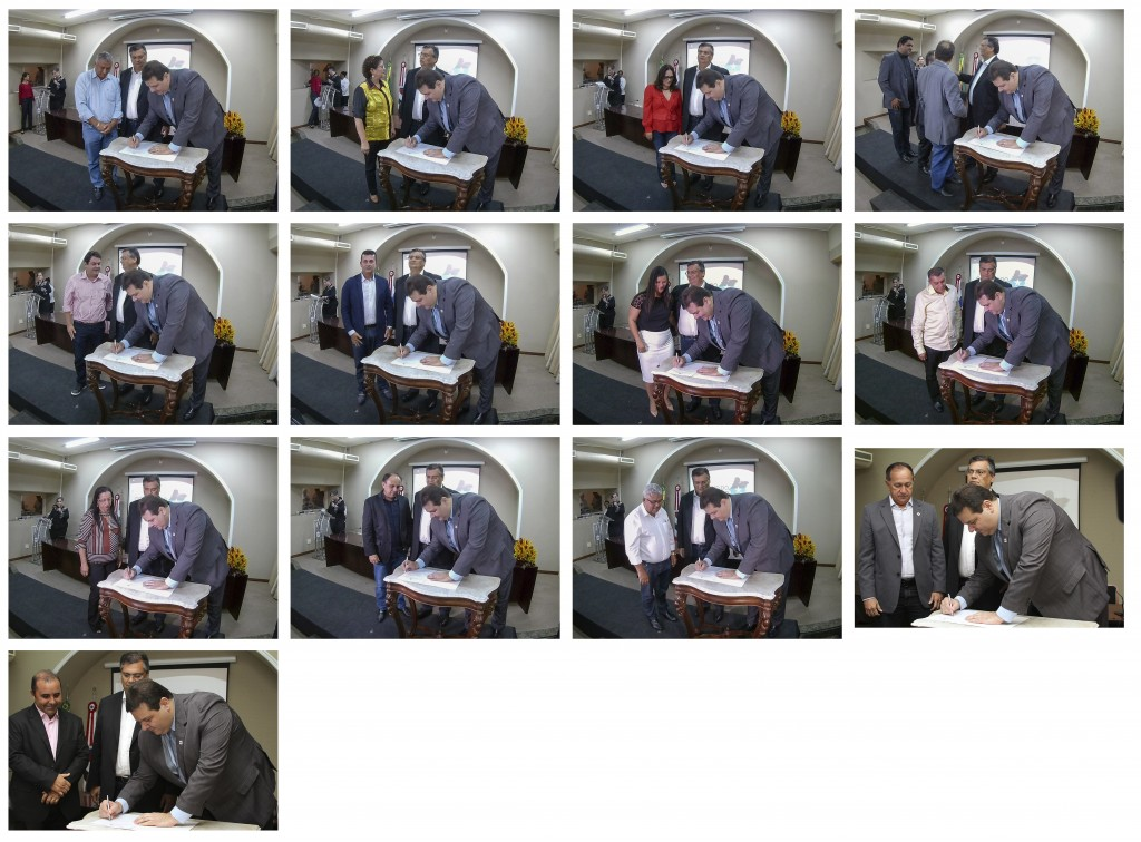 prefeitos assinam termos