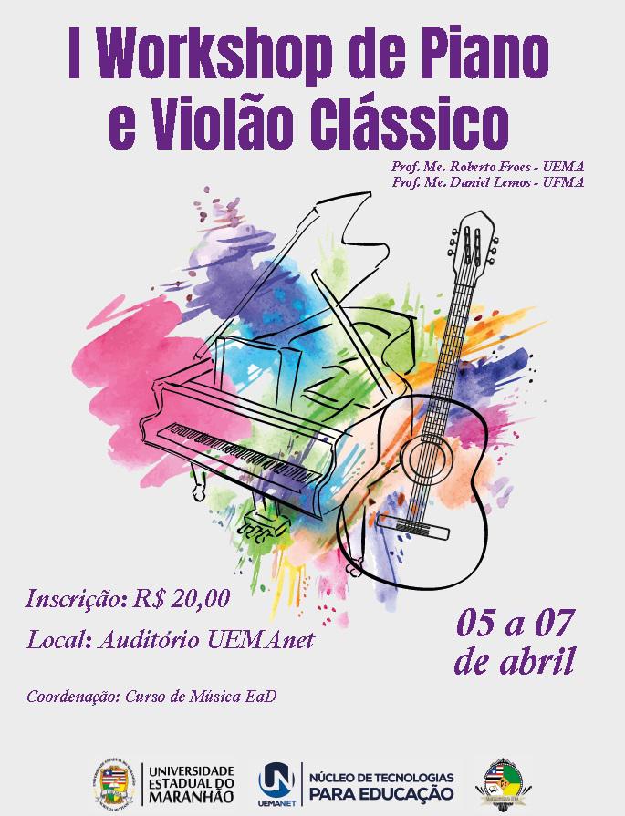 workshop de Piano e Violão Clássico