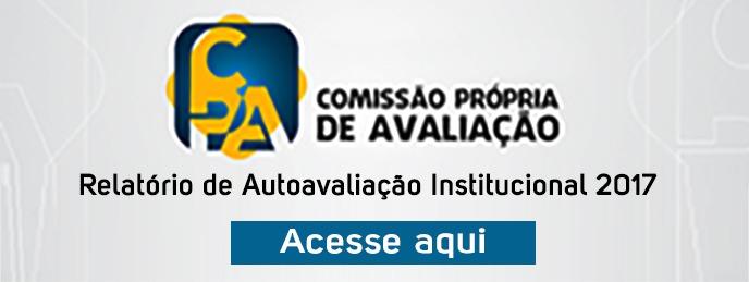 Relatorio de Autoavaliação Institucional 2017