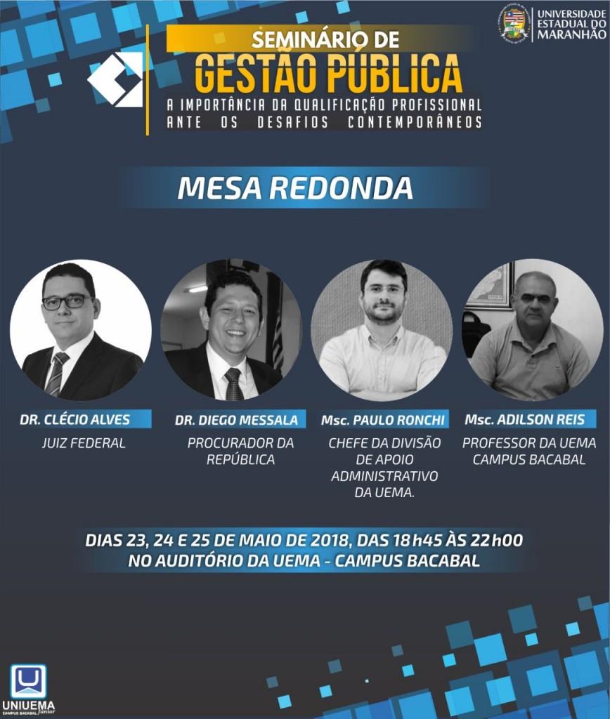 SEMINÁRIO GESTÃO PUBLICA 2