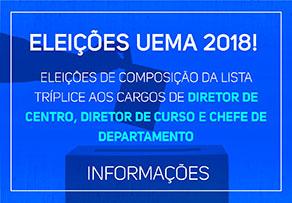 ELEIÇÕES DE COMPOSIÇÃO DA LISTA TRÍPLICE AOS CARGOS DE DIRETOR DE CENTRO, DIRETOR DE CURSO E CHEFE DE DEPARTAMENTO
