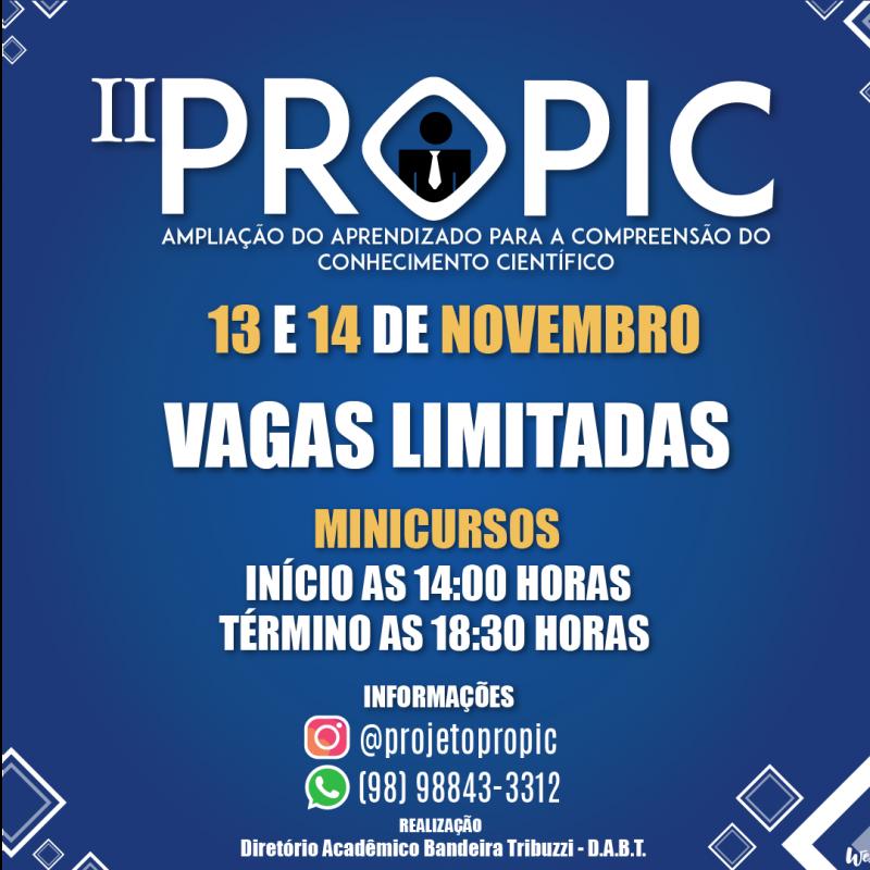 II PROPIC Noticias e Instagram 1080x1080 px