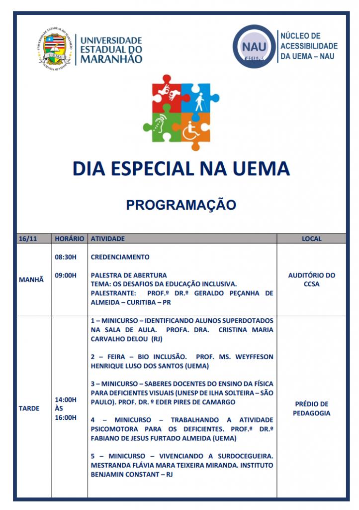Programação Dia Especial da UEMA. Png