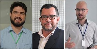 Davi Telles, Alex Oliveira, João Arthur