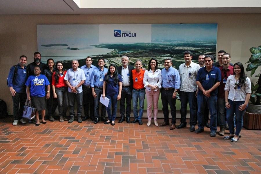 equipe da UEMA na sede da EMAP