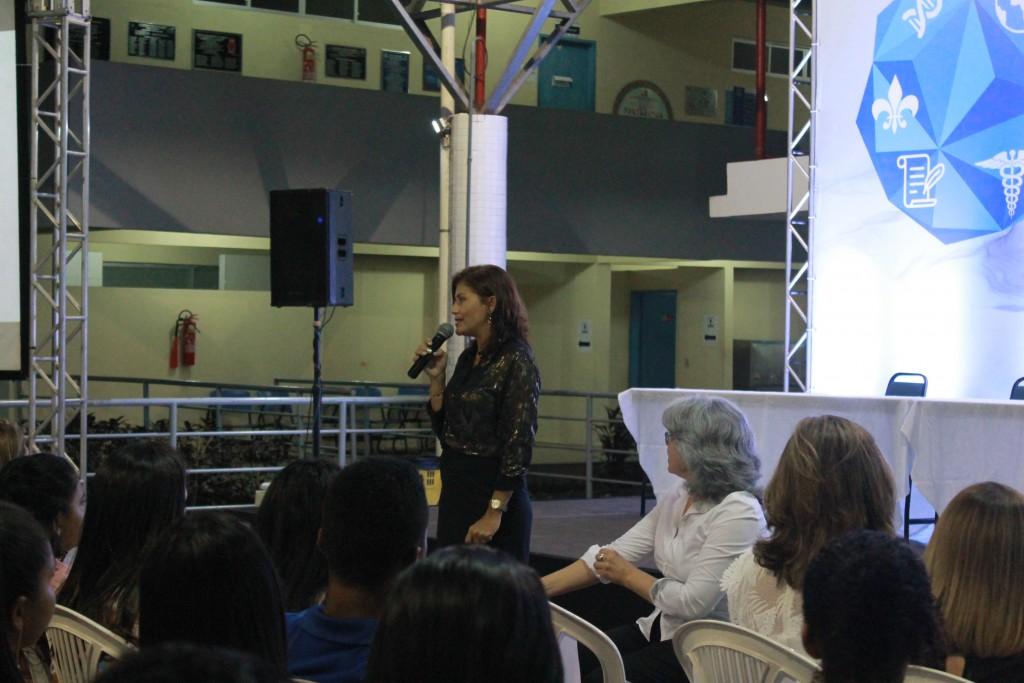 Professora Regina Célia_Abertura I Seminário_2018