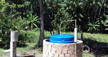 biodigestor instalado na propriedade rural de Pinheiro (MA)