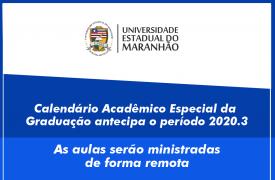 UEMA terá calendário acadêmico especial com aulas remotas