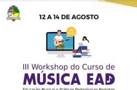 UEMA realizará III Workshop do Curso de Música Ead