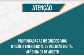 UEMA prorroga inscrições para Auxílio Emergencial de Inclusão Digital