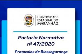 Uema divulga Protocolo de Biossegurança para retorno das atividades presenciais
