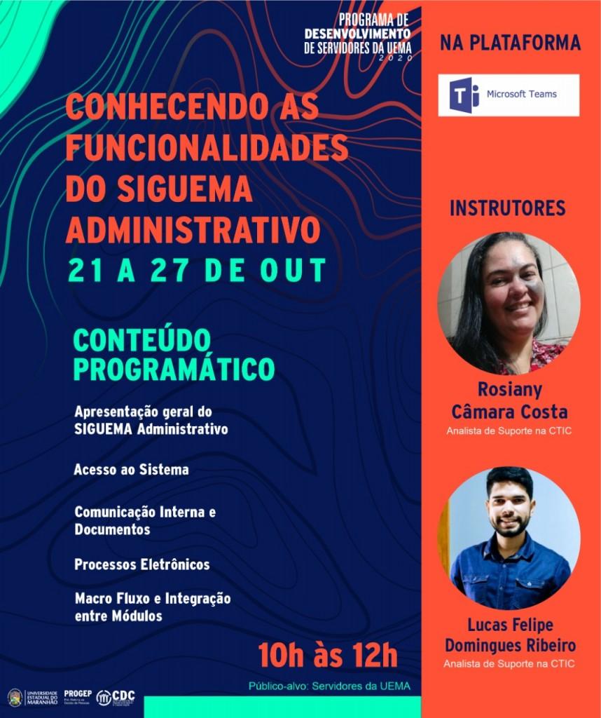 Flyer - SigUema - Divulgação