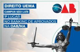 UEMA fica em primeiro lugar no ranking de aprovados da OAB/MA