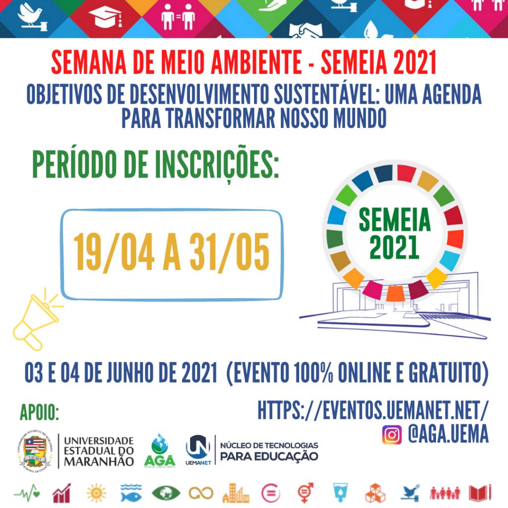 banners de divulgações semana de meio ambiente - semeia 2021
