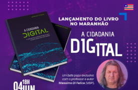 """UEMA recebe lançamento do livro """"A cidadania digital"""""""
