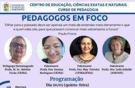Evento em comemoração ao Dia do Pedagogo acontece amanhã (20)