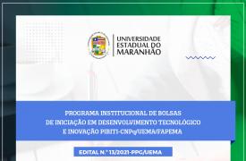UEMA lança edital para seleção de projetos e orientadores do PIBIT