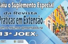 PROEXAE divulga suplemento especial da Revista Práticas em Extensão