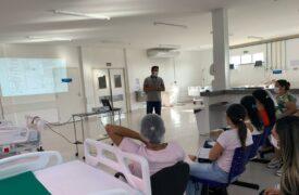 Campus Grajaú participa de treinamento sobre procedimentos realizados na UTI