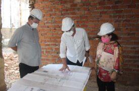 Vice-governador Carlos Brandão e vice-reitor Walter Canalles inauguram laboratório e visitam obra no Campus Caxias