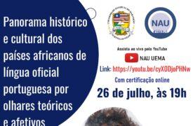 NAU e Curso de Letras do Campus Colinas promovem live sobre cultura de países africanos de língua oficial portuguesa na próxima semana