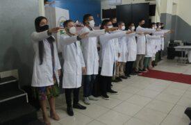 Curso de Medicina realiza Cerimônia do Jaleco no Campus Caxias