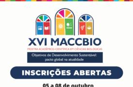 Inscrições abertas para o MACCBIO 2021