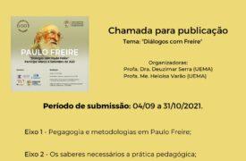 UEMA abre inscrições para submissão de produções textuais no formato de cartas à Freire