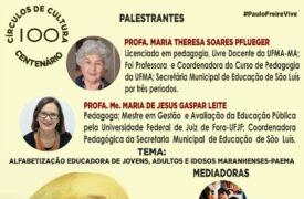 """Círculo de Cultura promove palestra """"Alfabetização educadora de jovens, adultos e idosos"""" hoje(17)"""