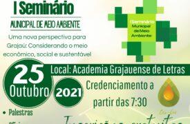 Campus Grajaú e Secretaria Municipal de Meio ambiente do município realizam I Seminário Municipal de Meio Ambiente